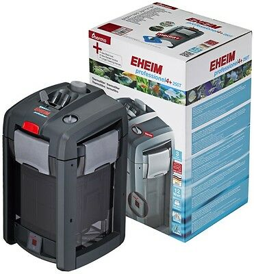 Very Quiet Energy Efficient High Flow Capacity Eheim Professionel 4+ 250 Thermo