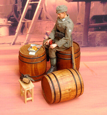 1/6 scale WOODEN BARRELS model action figure world war 2 wwii soldiers weapons