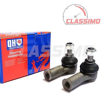 Track Tie Rod End Pair for VOLVO 240 260 740 760 780 940 960 - Quinton Hazell