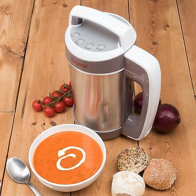 Soup Maker Stainless Steel Smoothie Machine Blender Mixer Multi Electric Recipe