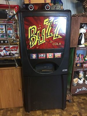 Maytag Skybox - Home soda vending machine - Simpsons movie prop mylar Buzz soda
