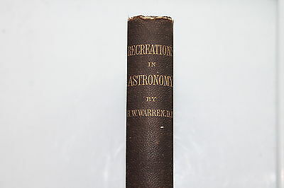 1886 Recreations In Astronomy Book