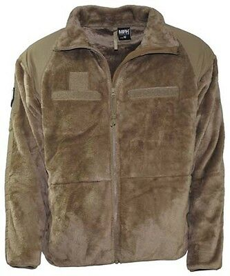 US Fleece Jacke GEN III Level 3 Cold Weather Military Outdoor Army Jacket coyote