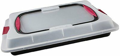 Zenker 3960 Baking Tray with Lid with Soft Handles