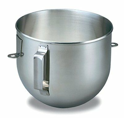 KitchenAid Brushed Stainless Steel 5 Quart Mixing Bowl with Handle for Bowl L...