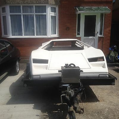 Lamborghini Countach 5000 Kit Car Chassis And Body Vw Beetle Based