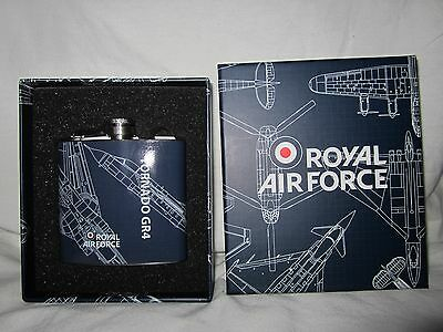 Royal Air Force Tornado GR4 stainless steel 5oz hip flask