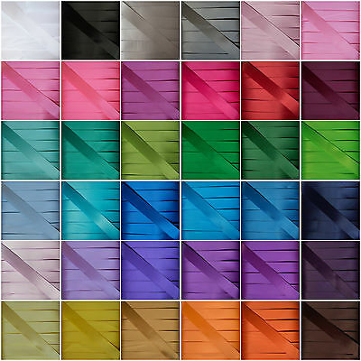 "Double Sided Satin Ribbon 50mm  2"" Premium Quality Crafts Bows - 1 3 or 5 metres"