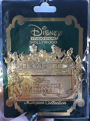 DSF DSSH Studio Store Animation Celebration Little Mermaid GOLD MARQUEE LE 150