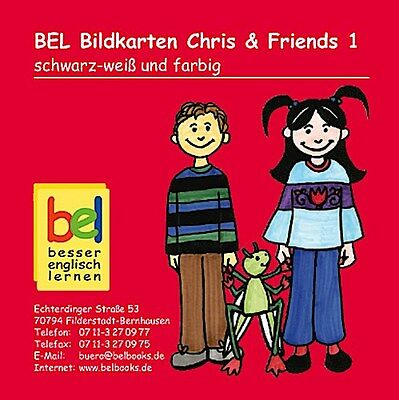 Learning English with Chris & Friends Bildkarten CD-ROM 1, Beate Baylie