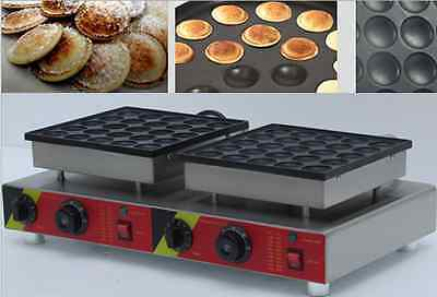 Commercial Non-stick 50pcs Electric Dutch Mini Pancakes Poffertjes Machine Baker