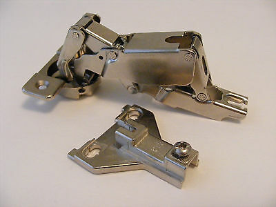 Ferrari 170 Degree Kitchen Door Hinge with  H3 2T B112 3mm Plate
