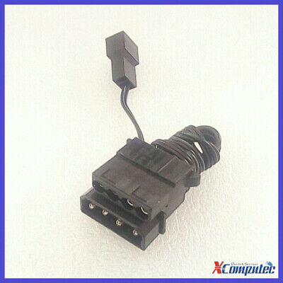 PSU Molex LP4 4pin to Case Fan 3 pin Male Socket Cable Converter Power Adapter