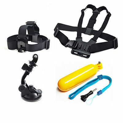 GoPro 5 in 1 Accessories bundle for GoPro Action Cameras SJ Camera and other New