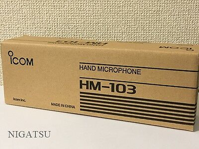 NEW Icom HM-103 hand microphone with up-down switch for IC706MK2G from JAPAN