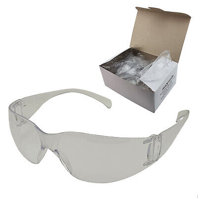 12x Clear Safety Glasses Lens Eye Protection Protective Eyewear SGA Googles