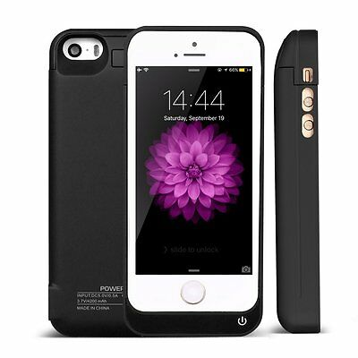 4200mAh External Power Bank Charger Pack Backup Battery Case for iPhone 5S SE