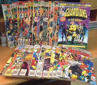 Guardians of the Galaxy Ultimate Collection Astonishing Tales 29 Avengers 181