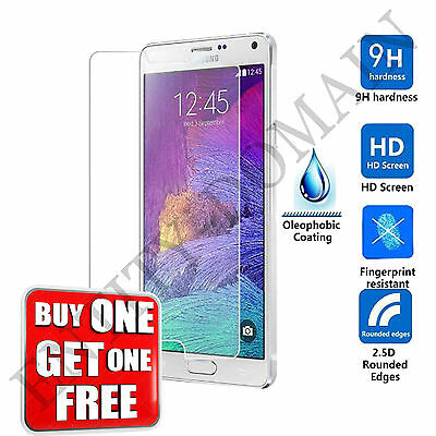 100% Real Gorilla Tempered Glass Screen Protector For Samsung Galaxy Note - 4