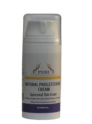 Progesterone Cream Very High Absorption Liposomal 85gm Pump Express Delivery