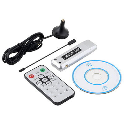 USB 2.0 DVB-T Digital TV Receiver HDTV Tuner  Stick Antenna IR Remote NEW WL
