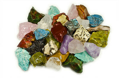 3 lbs Wholesale Mixed Stones from Madagascar - Tumble Rocks, Reiki, Wicca