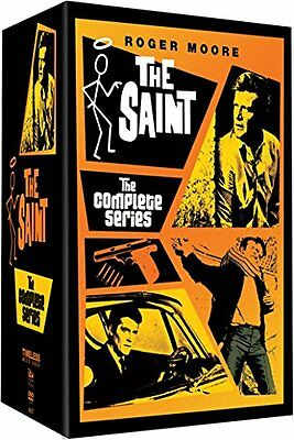 The Saint . Complete Series . Season 1 2 3 4 5 6 . Simon Templar . 33 DVD . NEU