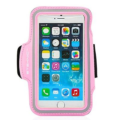 eTEKNIC Sports Running Jogging Gym Armband Arm Band Case Cover Holder iPhone 6S