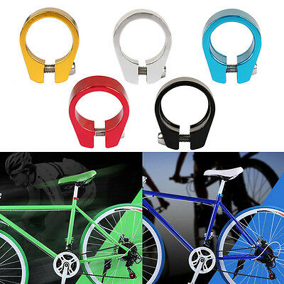 Bicycle Cycling Seatpost Clamps Seat Post Clamp Collar MTB Road Bike 28.6/31.8mm