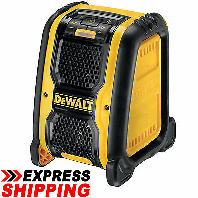 DEWALT 10.8V - 18V XR Li-ION JOB SITE BLUETOOTH SPEAKER - DCR006-XE