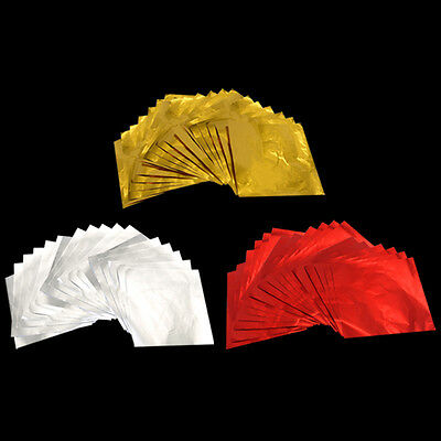 100 X Foil Wrappers Square for Chocolate Sweets Confectionary 80X80mm