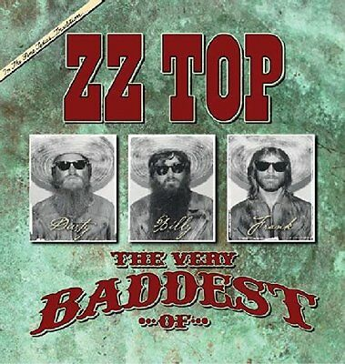 Zz Top The Very Baddest Of Cd (Greatest Hits / Very Best Of)