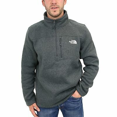 The North Face Gordon Lyons 1/4 Zip Pullover Outdoor Herren CC6E7D1 Grau