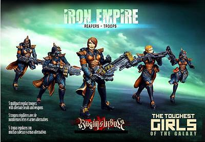Raging Heroes The Iron Empire Reapers Troops Box Set
