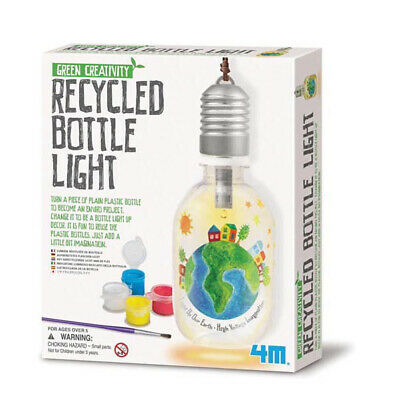 Green Creativity - Recycelte Glühlampe