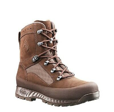 Haix Boots Combat High Liability Brown 2.Wahl Outdoor Army Stiefel UK 10 GR. 45