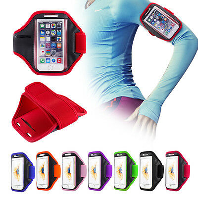 Gym Running Jogging Arm Band Sports Armband Case Holder For ALCATEL Mobile Phone