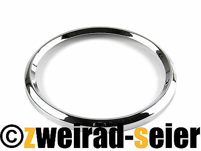 Chrome Ring for Speedometer Tacho and Tachometer - Ø D=3 1 5/32in MZ ETZ ,TS ,