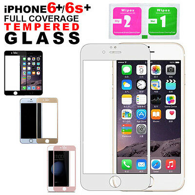 Full 3D Coverage Tempered Glass Screen Protector For Apple iPhone 6 Plus 6S Plus
