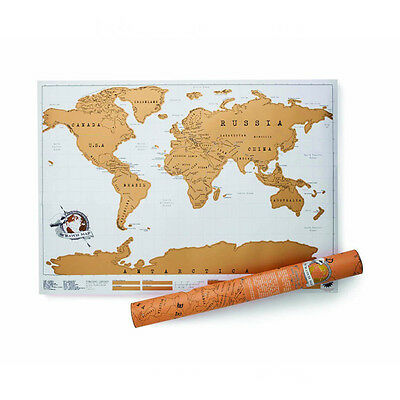 Luckies Scratch Map Mappa Del Mondo Da Grattare