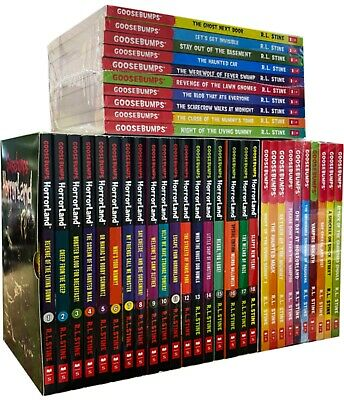 Goosebumps HorrorLand Series & Scream Street 31 Books Box Gift Set Collection