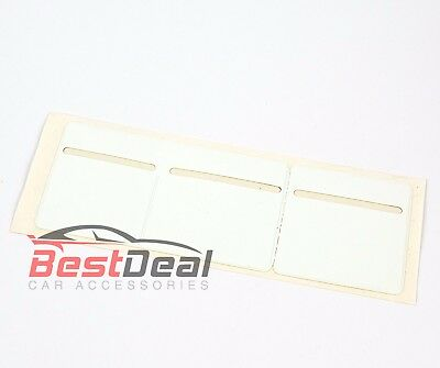 New White Windscreen Tax, Insurance, NCT Disc Holder for Cars Vans Taxi 3 pocket