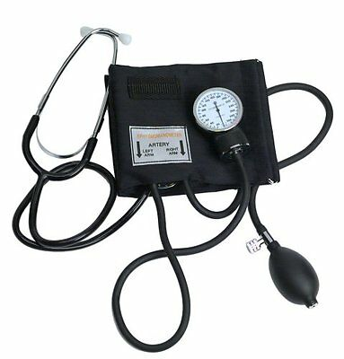 Adult Blood Pressure BP Cuff Kit With Stethescope