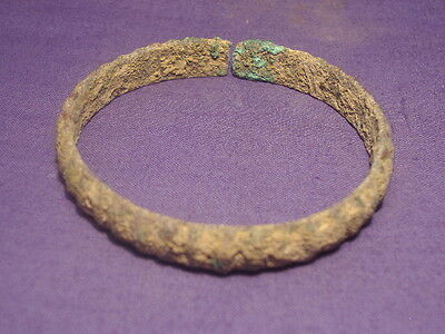 Ancient Bronze bracelet Bactrian 300 BC      #1928
