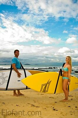Sup Stand Up Paddle Board Longboard Surfboard Elofant Carry Strap / Sling   New