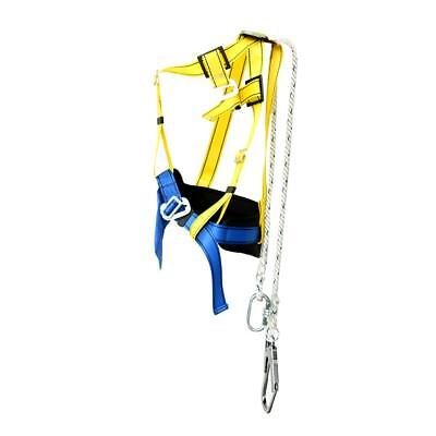 Roof Safety Climbing Harness Belt Strap Construction Protection & Lanyard