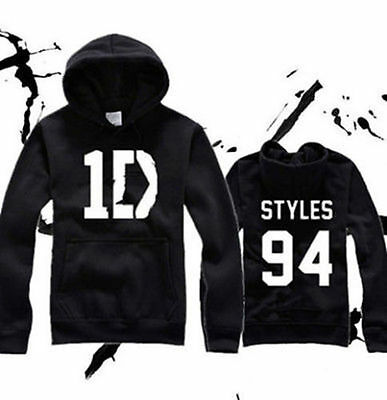ONE DIRECTION HORAN HARRY STYLES 94 Hoodie 1D LOUIS NIALL TOMLINSON