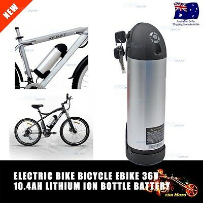 Ebike Electric Bicycles battery Kit electric bicycle battery bottle 36V 10.4AH