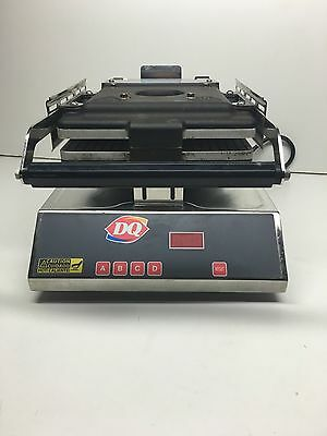 Dairy Queen OEM Commercial Pannini Press Maker Iron Works Excellent