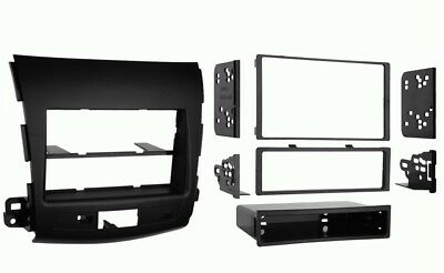 DOUBLE DIN DASH FASCIA KIT FOR MITSUBISHI OUTLANDER 2007-2010 and PEUGEOT 4007 2